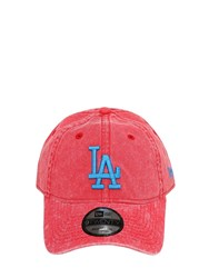 New Era Mlb 920 La Dodgers Cotton Baseball Hat Red
