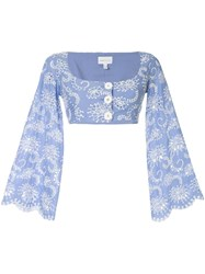 Alice Mccall Cloud Obscurity Crop Top 60