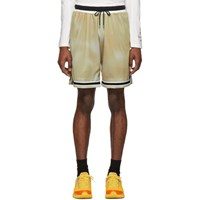 John Elliott Brown Mojave Tie Dye Shorts
