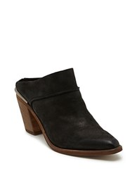 Dolce Vita Wes Stella Leather Mules Black