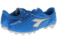 Diadora Maracana L Royal White Men's Soccer Shoes Blue