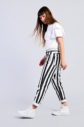 Glamorous Striped Jeans By Black