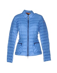 Club Des Sports Down Jackets Blue