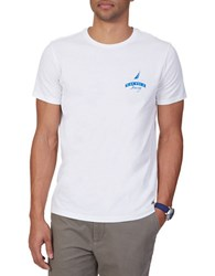 Nautica Big And Tall Captains Quarters Graphic T Shirt Natural