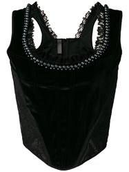 Marlies Dekkers Queen Of Pearls Corset Black