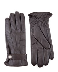 Jaeger Touch Leather Classic Gloves Brown