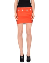 Acne Studios Skirts Mini Skirts Women Orange