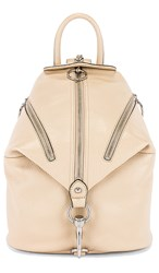 Rebecca Minkoff Easy Rider Julian Backpack In Beige. Clay