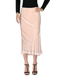 Angelos Frentzos Long Skirts Light Pink