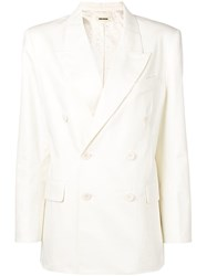 Zadig And Voltaire Vina Blazer White