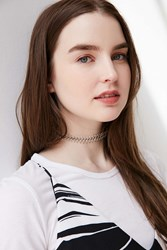 Urban Outfitters Wire Tattoo Choker Necklace Silver