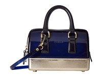 Furla Candy Bling Sweetie Mini Satchel Navy Satchel Handbags