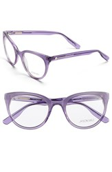 Women's Jason Wu 'Patrice' 50Mm Optical Glasses Dark Lilac