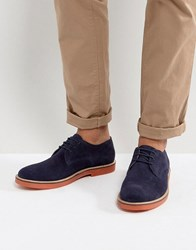 Kg By Kurt Geiger Morcombe Derby Shoes With Contrast Sole Navy Blue