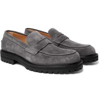 Mr P. Jacques Suede Loafers Gray