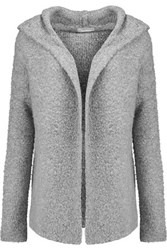 Joie Hadwyn Knitted Hooded Cardigan Gray