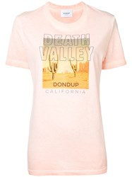 Dondup Death Valley T Shirt Orange