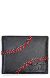 Rawlings Sports Accessories Men's Rawlings 'Baseball Stitch' Leather Wallet