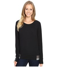 The North Face Street Lounge Crew Tnf Black Women's Long Sleeve Pullover
