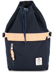 As2ov Drawstring Backpack Blue