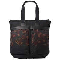 Fred Perry Nylon Tote Camo And Black