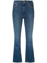 Mother Bootcut Jeans Blue