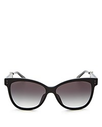 Marc Jacobs Square Wayfarer Sunglasses 54Mm Black Dark Gray Gradient