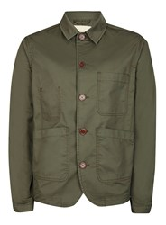Selected Green Homme Khaki Jacket