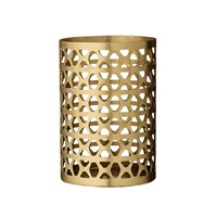 Day Birger Et Mikkelsen Brass Votive Latticed 10X15cm