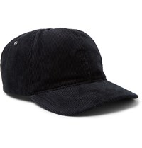 A.P.C. Louis Cotton Corduroy Baseball Cap Midnight Blue