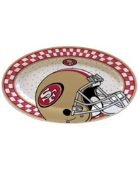 Memory Company San Francisco 49Ers Oval Platter Assorted