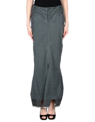 Marithe' F. Girbaud Le Jean De Marithe Francois Girbaud Skirts Long Skirts Women Dark Green