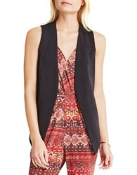 Bcbgeneration Welt Pocket Tuxedo Vest Black