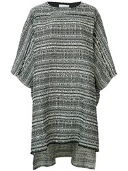 Faith Connexion Striped Knitted Tunic Black