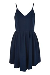 Glamorous Camisole Skater Dress By Navy Blue