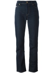 Diesel High Waisted Jeans Blue