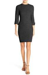 Women's French Connection 'Summer Sudan' Knit Sheath Dress Black