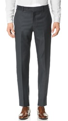 Brooklyn Tailors Super 110 Wool Suit Trousers Deep Charcoal