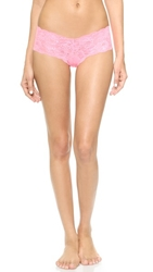 Cosabella Never Say Never Naughtie Low Rise Hot Pants Neon Pink