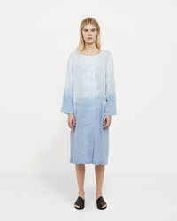 Raquel Allegra Cotton Gauze Tie Dye Day Dress