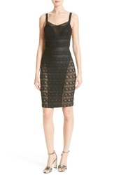 Tracy Reese Women's Stretch Lace Body Con Dress