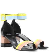 Pierre Hardy Memphis Leather Sandal Multicoloured