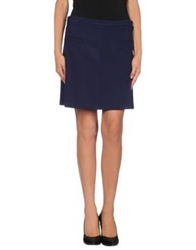 Scee By Twin Set Mini Skirts Blue