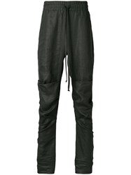 Lost And Found Rooms Ruched Drop Crotch Trousers Black