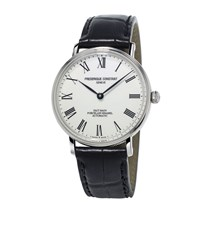 Frederique Constant Classics Art Of Porcelain Watch Unisex White