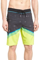O'neill Men's Big And Tall Hyperfreak Illusion Board Shorts Lime