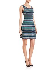 M Missoni Triangle Striped Tank Dress Mint Green