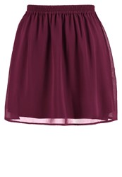 Evenandodd Mini Skirt Purple