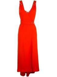 A.L.C. Haley Dress Red