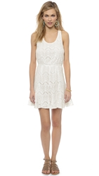 6 Shore Road By Pooja Angel Lace Dress Moonlight White